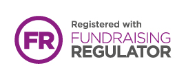 Logo: Registered with Fundraising Regulator